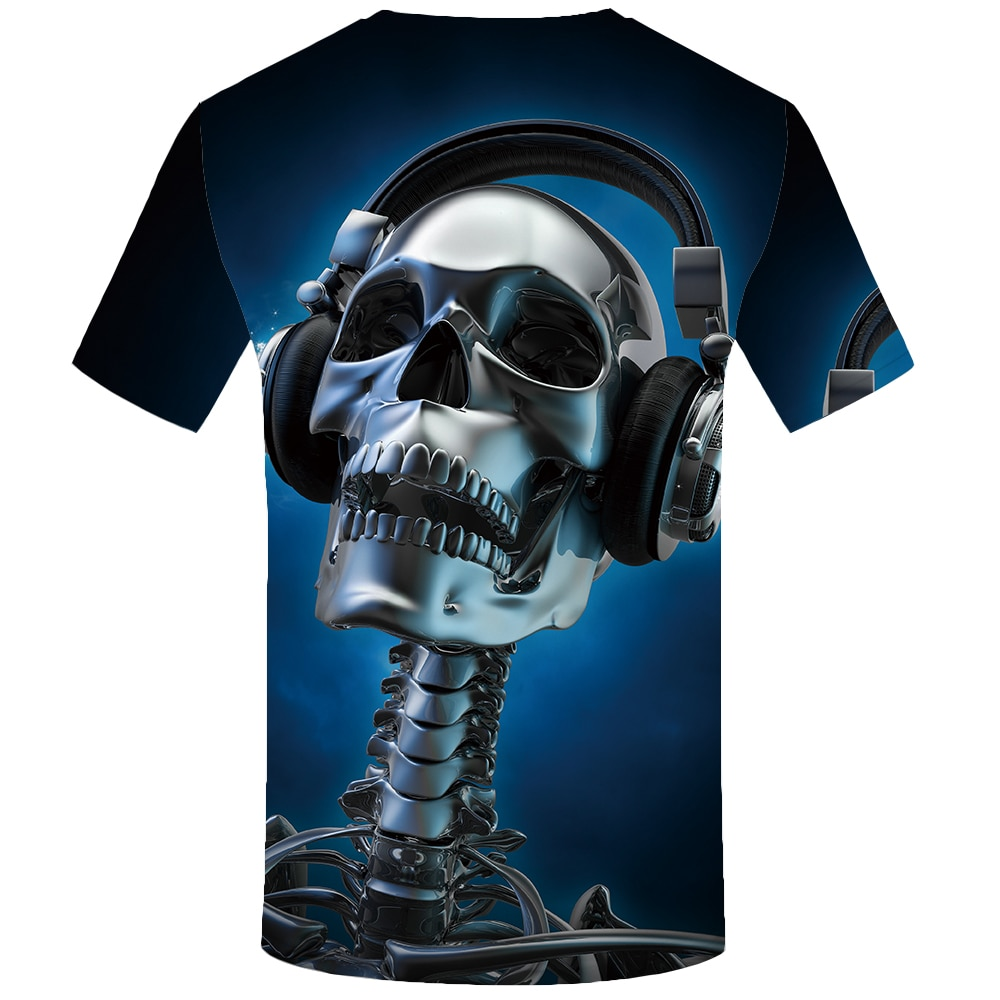 Quality 3D Graphic Hip Hop Tee  T-shirts