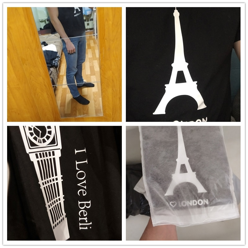 I Love London With Eiffel Tower T shirt