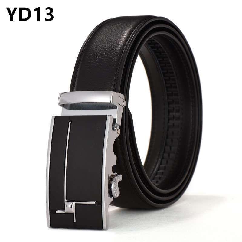 Men Automatic Buckle Cow Skin Authentic Fashion Waist Belt